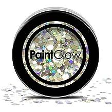 PaintGlow, grosse Cosmétique Paillettes pour cheveux, visage et corps, Disco Fever, 3G