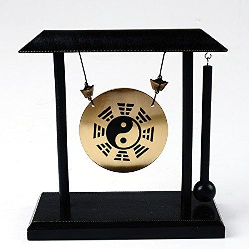 Latón PA KUA Yinyang Gong Feng Shui asiático de sobremesa art-zen W...