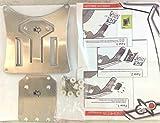Ausziehbarer Universal-Kennzeichenhalter Trial Enduro One–Cod.77541310