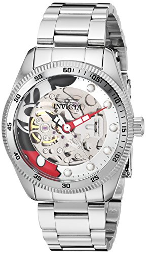 Invicta Womens Analog Automatic-self-Wind Watch with Stainless-Steel Strap 25347