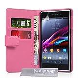 Yousave Accessories® Cover per Sony Xperia Z1–Rosa
