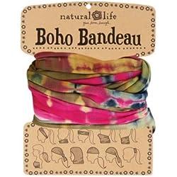 Natural Life Boho Bandeau - Bandana para mujer multicolor, talla M