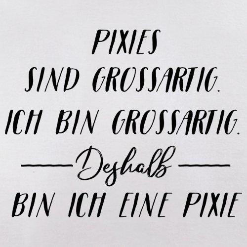 Ich Bin Grossartig - Pixie - Herren T-Shirt - 13 Farben Weiß