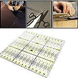 hrph Fashion Patchwork Herrscher Acryl Präzise skalieren transparent Lineal Home Garten Arts Craft Nähen Tools Maßnahme Zubehör