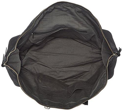 Liebeskind Rundu Handtasche Leder 50 cm Schwarz (nairobi black)