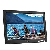Andoer 10'' HD TFT-LCD 1024 * 600 Marco Digital de Fotos MP3 MP4 Movie Player con Escritorio Remoto Negro