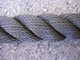 Handlaufseil/Absperrseil sepiabraun aus 100% Polypropylen (Handlauf- / Absperrseile)