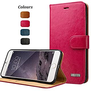 Labato WEICH iPhone 6 Plus/6s Plus Handytasche Apple Plus Hülle Flip Cover iPhone Handyhüllen Ledertasche, pinke Tasche, Leder Case Lbt-I6L-04Z33 (B00OKD9RNO) | Amazon Products