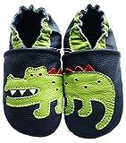 Carozoo Crocodile Krabbelschuhe Baby