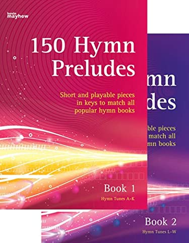 150 Hymn Preludes - Organ - Pedals - BOOK