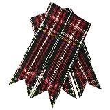 Schottische Kilt-Strumpfbänder, verschiedene Schottenmuster, spitz Gr. Einheitsgröße, Black stewart Tartan