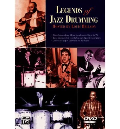 Legends of Jazz Drumming, Complete: Parts One & Two, DVD (DVD video) - Common