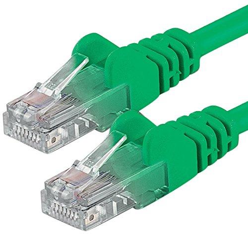 1aTTack CAT6 2x RJ45 Stecker UTP Netzwerk Patch-Kabel 20m grün - Cat6 Grün Utp Patch