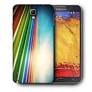 Snoogg Sunrise On Strips Printed Protective Phone Back Case Cover For Samsung Galaxy NOTE 3 NEO / Note III