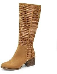 IF Fashion Scarpe da Donna Stivali Primaverili Estivi Camperos Polpaccio  GL601 066ee13cc50