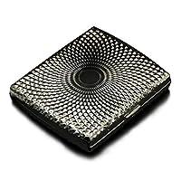 Gbadai Cigarette Box 2 pieces Three-dimensional pattern can accommodate 20 cigarette metal cigarette cases