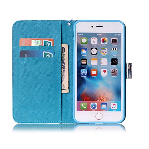 "iPhone 6 Plus Coque, Mythollogy - Housse en Cuir PU Case Étui à rabat Portefeuille Coque de Protection avce Support Antichoc Coque Case Cover pour iPhone 6 Plus / iPhone 6S Plus (5.5"") - DREAN CSS"