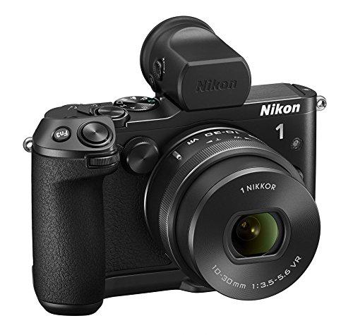 Nikon 1V3Cámara ad Optica intercambiables, Full HD, 18,4Mpx, Micro SD 300X 16GB Lexar, [nital Card: 4años de garantía]