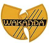 Black Panther Wakanda Patch Superhero Comics Logo personnage Thème Série NEUF 2018Marvel Films brodé fer coudre sur badge patchs à DIY