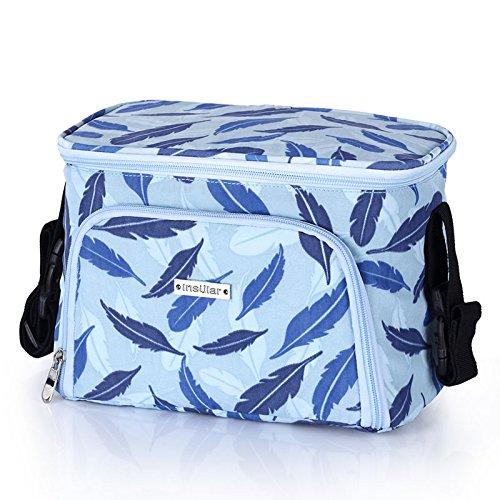 CaTop in 1Kinderwagen Organizer Verstellbare Schulter Tasche für Stars tragbar Baby Wickeltasche Buggy Reisen Tragetasche blau