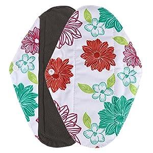 Fulltime(TM) Reusable Bamboo Cloth Washable Menstrual Pad Mama Sanitary Towel Pad