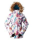 APTRO Damen Skijacke warm Jacke gefüttert Winter Jacke Regenjacke Mehrfarbig...