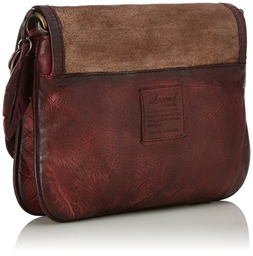 Legend Damen Ultimo Clutch, 5x20x23 cm Braun (Tan)