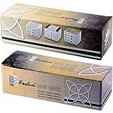 Feelino große Geschenkbox mit 3x 6er-Boxen Teeblumen, inklusiv 6er-Box Weißtee, Grüntee und Schwarztee-Teerosen, 1er Pack