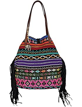 ANOKHI Shopper Small Touch Me, (BxHxT) 48 x 40 x 17 cm, Multi