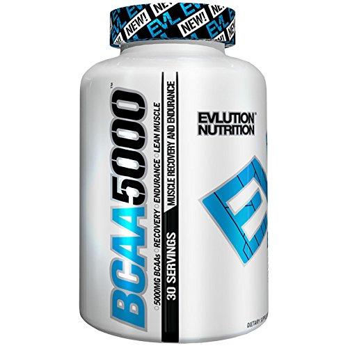 Evl Nutrition BCAA 5000 Caps (240) Standard Ohne Pfand, 240 g - Bcaa 240 Caps