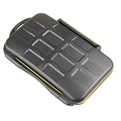 JJC MC-SDMSD12 Speicherkarten Schutzbox für SD und Micro SD Karten - Wasserdicht -