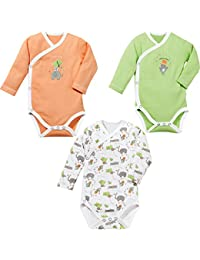 Baby Butt Wickelbody 3er-Pack mit Druckmotiv Zirkus Interlock-Jersey