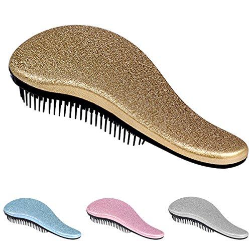 Detangler Hair Brush (Haarbürste, effektive Detangler Hair comb- Dry & Wet Hair Brush Detangling Brush, professionelle Entwirren Knoten keine Schmerzen nicht mehr Tangle für Damen, Herren, Baby, Mädchen & Jungen)