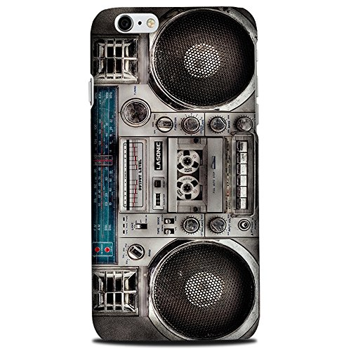 CASE U Vintage rugged Boombox Designer Case for Apple iPhone 6