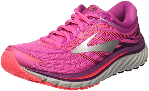Brooks Glycerin 15, Chaussures de Running Femme, Rose (Pink/Purple/Silver 1b608), 36 EU