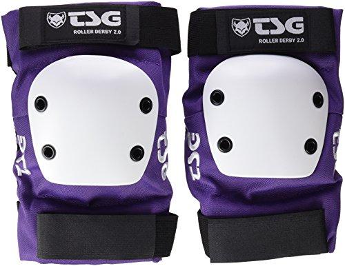 TSG Erwachsene Ellbogenschoner Roller Derby 2.0 Purple, S