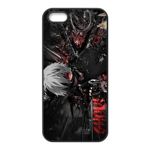 iPhone 5S Coque, Tokyo Ghoul Series Housse de Apple iPhone 5s Case Cover Coque en silicone skin Housse Coque Shell de protection pour iPhone 55S