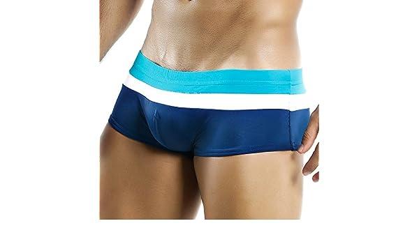 27f235477d Intymen ING040 Magic Colors Boxer Trunk Navy/Green Mens Swimwear:  Amazon.co.uk: Clothing