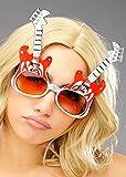 Rock'n'Roll Neuheit Funny Guitar Glasses