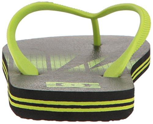 DC Shoes Spray Graffik, Sandales hommes Black/Fluorescent Gr