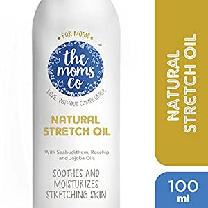 The Moms Co. Natural Stretch Marks Oil ,100 Ml