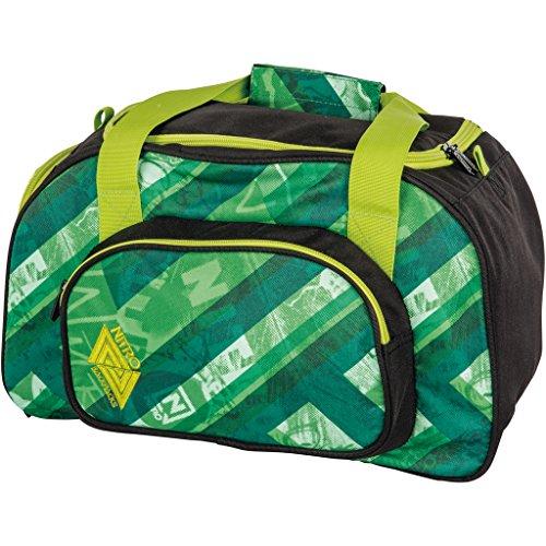 Nitro Sporttasche Duffle Bag XS, Schulsporttasche, Reisetasche, Weekender, Fitnesstasche,  40 x 23 x 23 cm, 35 L, 1131-878019_Wicked Green