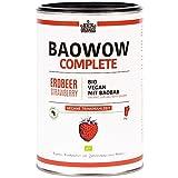 Berlino Organics baowow Complete sapore di fragola–10pasti deliziosi Bio come bevanda–veganer Shake–Polvere Miscela–Liquido Muesli–Ideale come Ricambio per colazione o come Snack zwischendurch