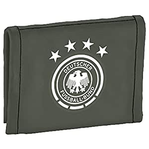 adidas Geldbeutel DFB Wallet, Base Green S15, 1 x 10.5 x 12.5 cm, 0.12 Liter, AH5744. NS