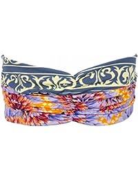 Maaji - Bandeau pour cheveux beach turban double tissus