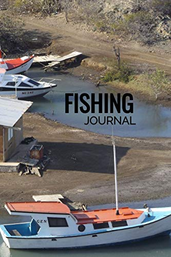 Fishing Journal: A 6 x 9 Inch Matte Softcover Paperback Notebook Journal With 120 Blank Lined Pages Ships in Curacao Cover Design
