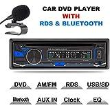 lling (TM) 1DIN 12V estéreo del coche DVD/CD/reproductor de Bluetooth Radio MP3/USB/SD/TF/AUX/FM/AM/RDS apoyo con mando a distancia