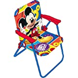 ARDITEX WD7866 Mickey Mouse Chaise pliante pour Enfant Tissu 38 x 32 x 53 cm