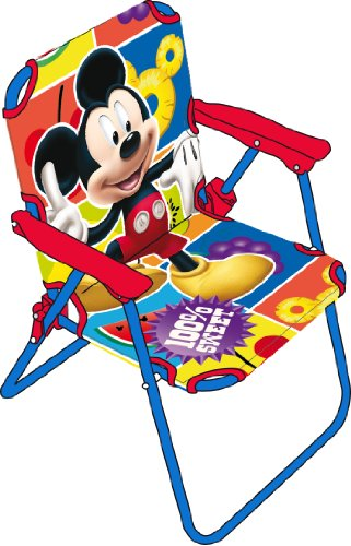 Arditex WD7866 - Silla plegable, diseño Mickey Mouse