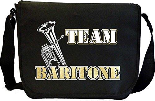 Baritone Team Baritone - Sheet Music Document Bag Musik Notentasche MusicaliTee - Klassische Flap Bag